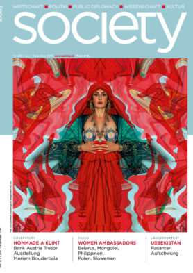 Cover des society-Magazins Nummer 372: Juni bis Dezember 2018