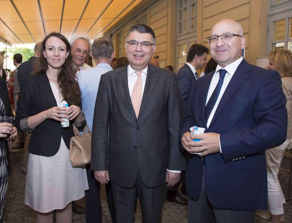 Gartenparty des Vienna Economic Forum society.at