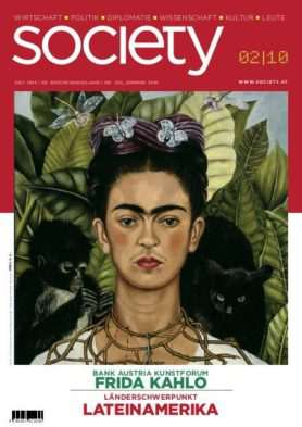 Cover des society Magazins Nummer 354: Sommer 2010