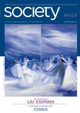 Cover des society Magazins Nummer 356: Winter 2010