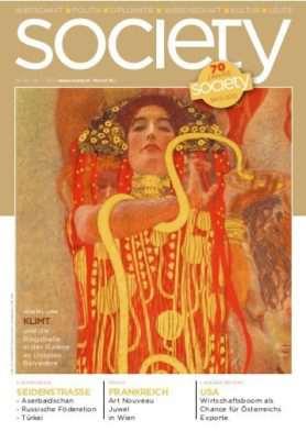Cover des society Magazins Nummer 367: Januar bis Juni 2015