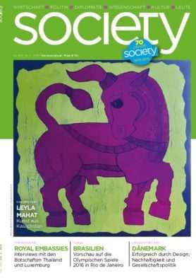 Cover des society Magazins Nummer 368: Januar bis Juni 2015