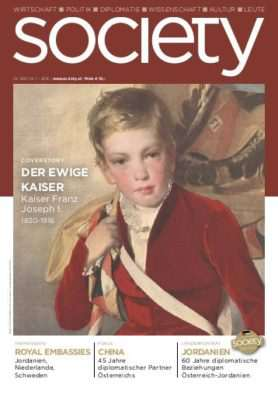 Cover des society Magazins Nummer 369: Januar bis Dezember 2016
