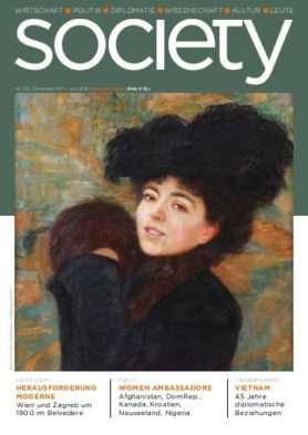 Cover des society Magazins Nummer 372: Dezember 2017 bis Juni 2018