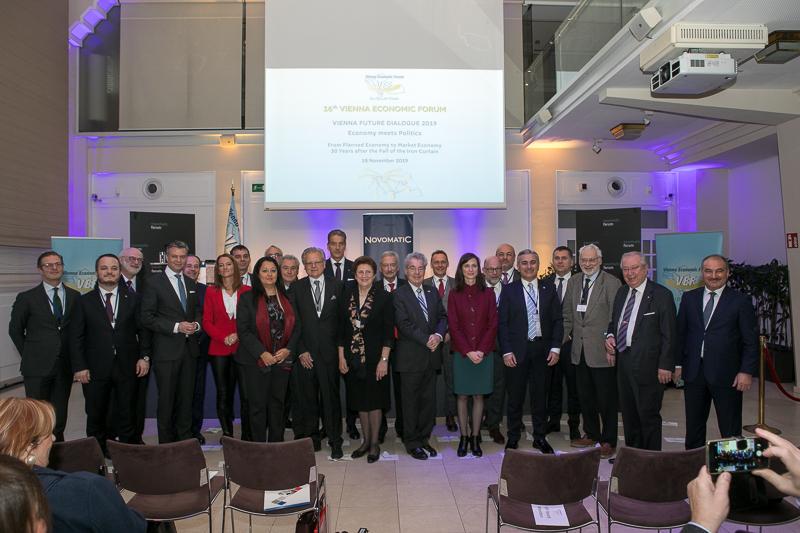 Vienna Economic Forum: Plenary Session society.at